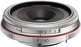 Pentax K-Mount HD DA 40mm f/2.8 40-40mm Fixed Lens for Pentax KAF Cameras (Limited Silver)