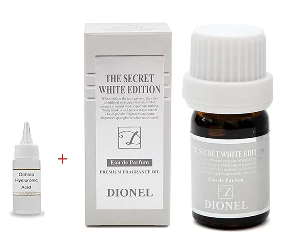 年齢ハンサムジャズ[Dionel] 香水のような女性清潔剤、プレミアムアロマエッセンス Love Secret White Edition Dionel 5ml. ラブブラックエディション、一滴の奇跡. Made in Korea + + Ochloo hyaluronic acid 10ml