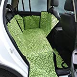 MYYXGS Dog Car Mat Oxford Cloth Dog Carrier Impermeable Dog Car Seat Cover Back Pad Protector De Hamaca con CinturóN De Seguridad