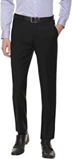 American-Elm Slim Fit Formal Trouser for Men, Cotton Formal Pants for Office Wear