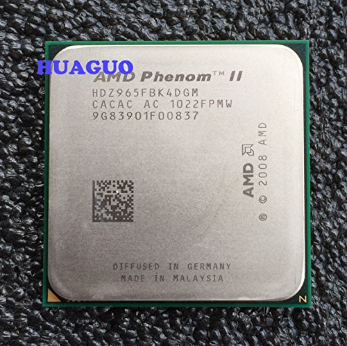 AMD PhenomII X4 965 3.4GHz AM3 8.0MB Cache 125W Bulk