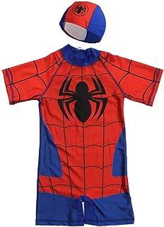 6523d98b148e3 Swimsuit Swimwear One Piece UPF50+Bathing Suit Batman Swimming Boys Captain  America Kids Sport Baby