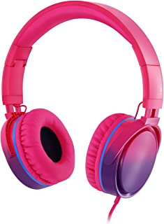 Rockpapa Grade Over Ear Headphones Foldable with Mic, Adjustable Headband Headsets for CellPhones Tablets Computers PC MP...