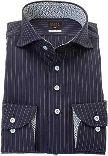 ワイシャツ カッターシャツ シャツ STYLE WORKS (スタイルワークス) ドレスシャツ 長袖 綿100% カッタウェイ ドレスシャツ メンズ 柄シャツ 派手シャツ|RWD116-252