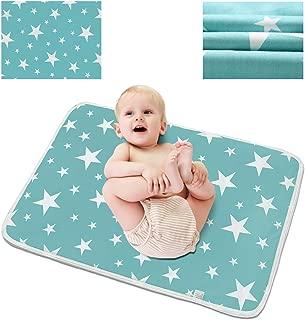blue star changing mat