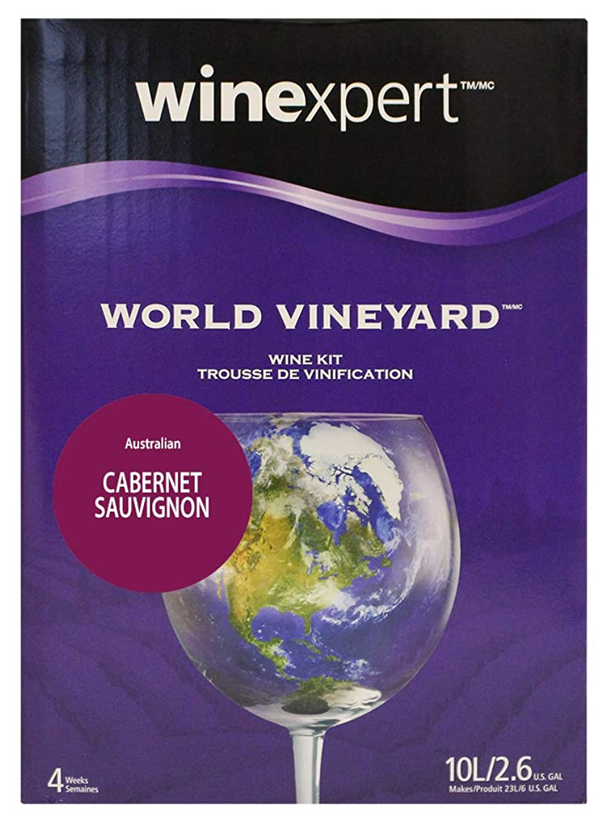 Australian Cabernet Sauvignon Wine Kit with Grape Skins