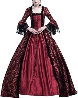 Disfraz De Medieval para Mujer Vestido Renacentista Traje De Princesa