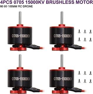 Brushless Motor 4PCS 0705 15000KV Brushless Motor for 60 80 100mm RC Drone