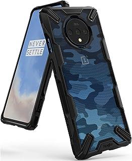 Ringke 1P7T-RE-XF-CB TPU Bumper Mobile Cover For OnePlus 7T - Camo Black