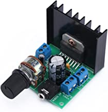 DROK TDA7297 15W+15W Audio Power Amplifier Module AC/DC 9-18V 2.0 Dual Channel Stereo Amp Board, DIY Sound System Component