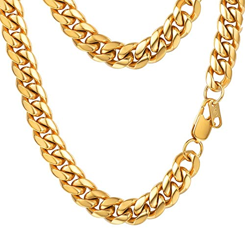 66aed6087df Miami Cuban Link Chain  Amazon.com