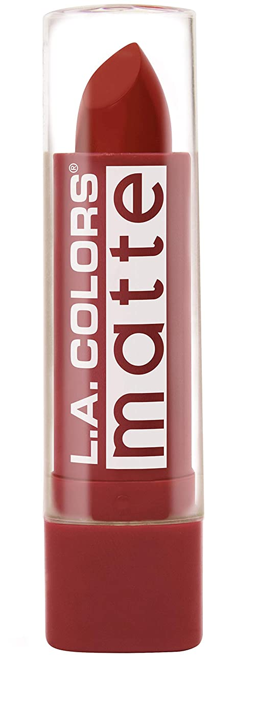 引き出し瞑想的アプライアンスL.A. COLORS Matte Lip Color - Red Tango (並行輸入品)