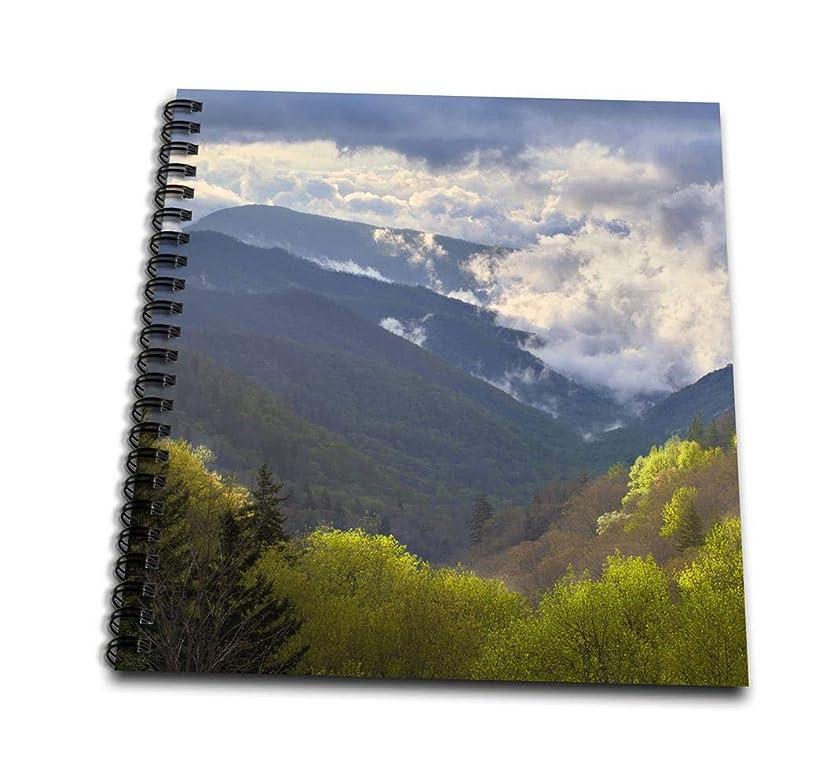 3dRose db_93186_1 OConaluftee, Great Smoky Mountains, North Carolina US34 AJE0145 Adam Jones Drawing Book, 8 by 8