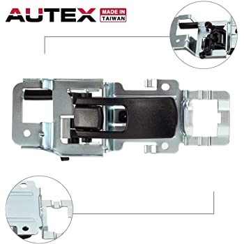 Amazon Com Autex Door Handle Interior Front Rear Right Black Compatible With Equinox 2007 2009 Door Handle Compatible With Torrent 2006 2009 Door Handle Passenger Side Home Improvement