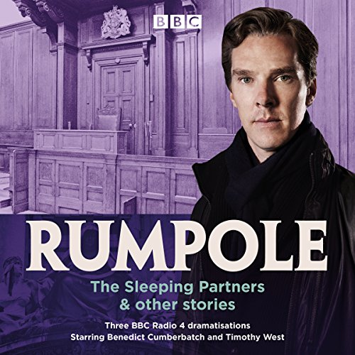 Rumpole: The Sleeping Partners & Other Stories audiobook cover art