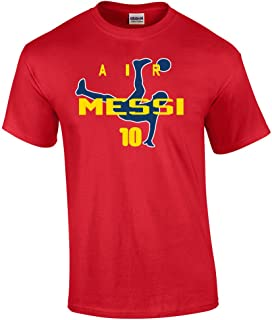 KING THREADS RED Lionel Messi FC Barcelona Air Messi T-Shirt