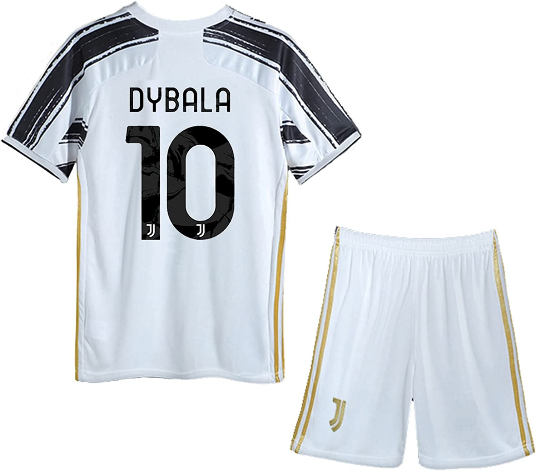 IUhgerd Dybala #10 Kids Youths Soccer 2020-2021 T-Sh Home Max 67% OFF Max 85% OFF Season