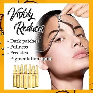Matoen 7pcs Dark Spot Corrector Ampoule Moisturizing Firming Facial Serum Skin Tightening Lifting Anti Wrinkle Anti Aging Brightening Acne Scar Treatment Face Serum with Hyaluronic Acid (A)