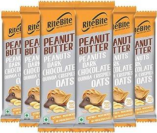 RiteBite Max Protein Peanut Butter 240g - Pack of 6
