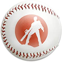 S21WSP Ash Vs The Evil Dead Baseball, Sport Training Ball Baseball, Festival Gift