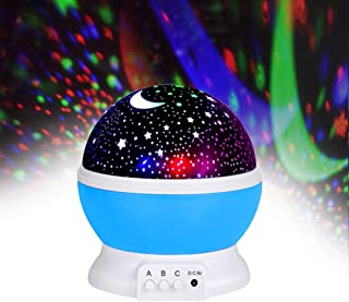 Jayden78 Starry Night Light Projector 360 Degree Rotation Best Gifts for 3-12 Year Old Boys Girls