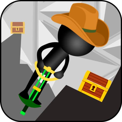 Stickman Pogo Stick Jumper Crash Test: Bouncing Ninja Reaction