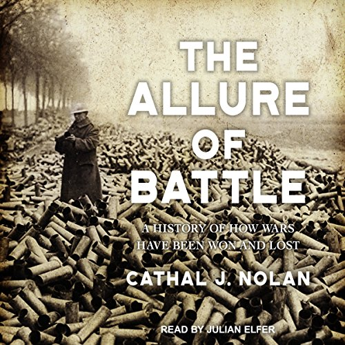 The Allure of Battle audiobook cover art
