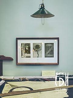 """Lámina""""Nombre x 3"""" Arte personalizado con fotografías de tres letras creativas, 40,6 x 25,5 cm (sin enmarcar)"""