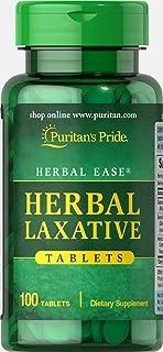 Puritan's Pride Herbal Laxative-100 Tablets