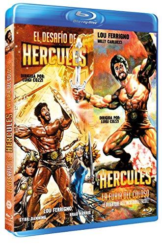 El Desafío de Hércules + La Furia del Coloso (Hercules + Le avventure dell'incredibile Ercole) [Blu-ray]