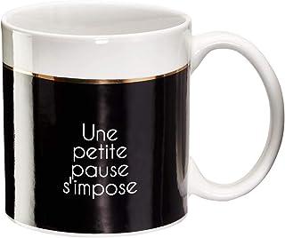 Draeger - Mug Original - Tasse À Thé à offrir en cadeau à vos proches - Tasse À Café en porcelaine fine - 350 ml 8 cm de d...