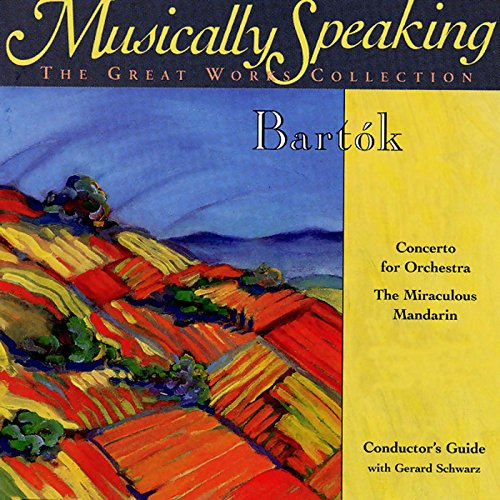 Conductor's Guide to Bartok's The Miraculous Mandarin & Concerto for Orchestra cover art