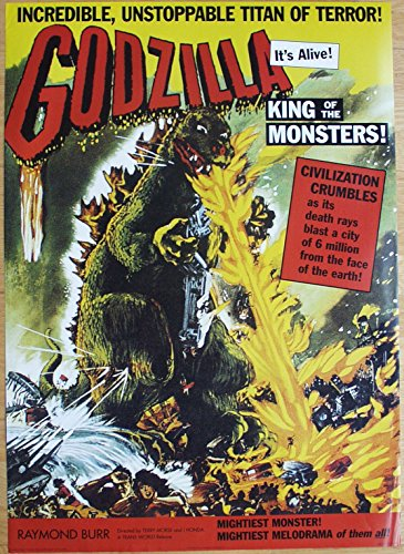 GODZILLA King Of The Monsters Poster Nr. 2 Format 61 x 86