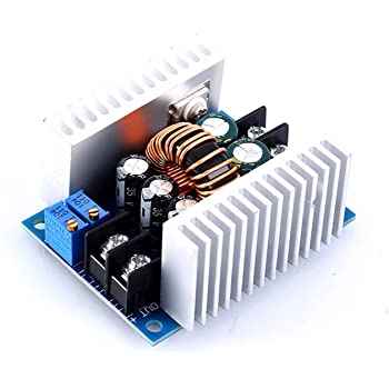 WHDTS 20A Power Supply Module DC-DC 6V-40V to 1.2V-35V Step Down Buck Converter Adjustable Buck Adapter CVCC Constant Voltage Constant Current Converter LED Driver