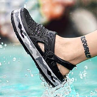 WYTX Sandalias de Verano para Hombres y Mujeres Zapatillas de Hombre Zapatillas Casuales Plataformas de Camuflaje Zuecos Z...
