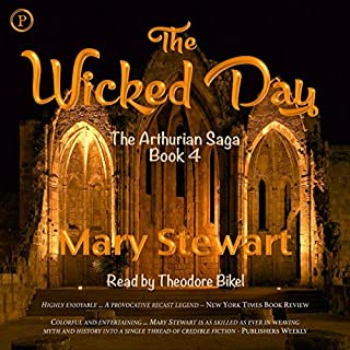 The Wicked Day audiobook cover art