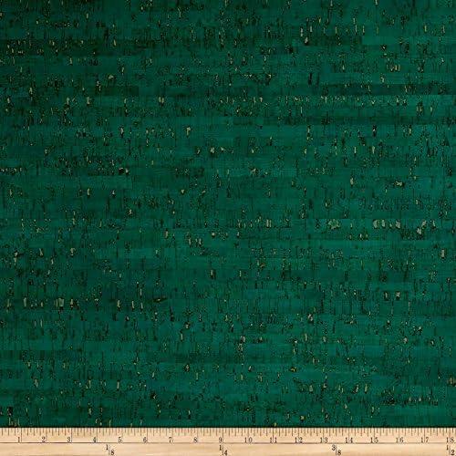 Ever Sewn Emerald Cork Fabric 1 Yard product image