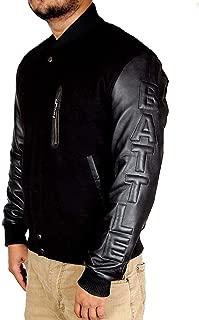 Michael B. Jordan Kobe Destroyer XXIV Battle Jacket Black Sleeves