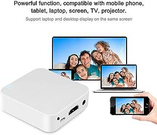 Smart Car Box Car WiFi Display, Car Mirror Box Airplay, White Mini Smart Box Wireless Car Display for Car for Mac 0S10 and...