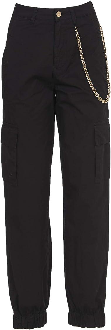 Pantaloni chiara ferragni cargo neri B088TQYHP7