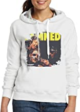 Women's Slim Fit Damned Damned Damned By The Damned Hoodie