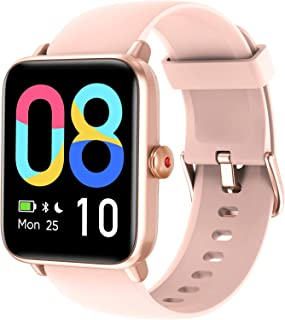 LETSCOM Smart Watch for Android Phones Compatible with iPhone, 1.55 Inch Touch Screen, Fitness...