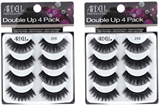 Ardell False Eyelashes 8 Pack Double Up 205, 2 pack (4 pairs per pack)