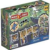 Geomag Magicube - Juego de construcción magnética, 6 Piezas