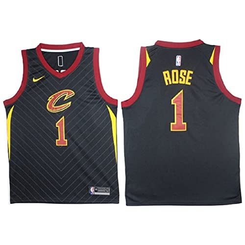 NIKE Derrick Rose Cleveland Cavaliers NBA Youth Black Alternate Swingman Icon Jersey