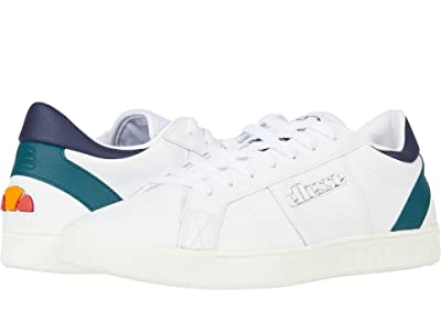 Ellesse LS-80 (White/Dark Green/Dark Blue) Men