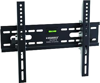 STARGOLD Tilting TV Bracket, Heavy Duty Wall Mount Adjustable TV Stand for 17-55'' LED LCD Plasma & Flat Screen for living...