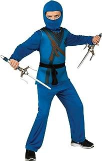 Rubie's Ninja Child's Costume, Blue, Small