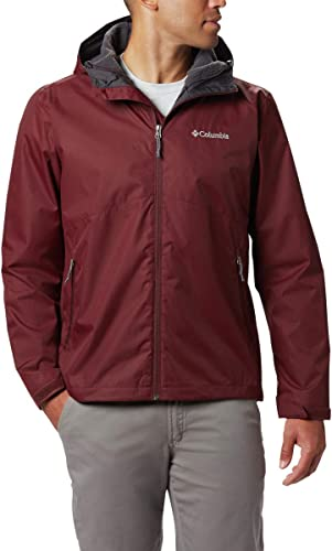 Columbia Hommes's Rainie Falls veste, Elderberry, grand
