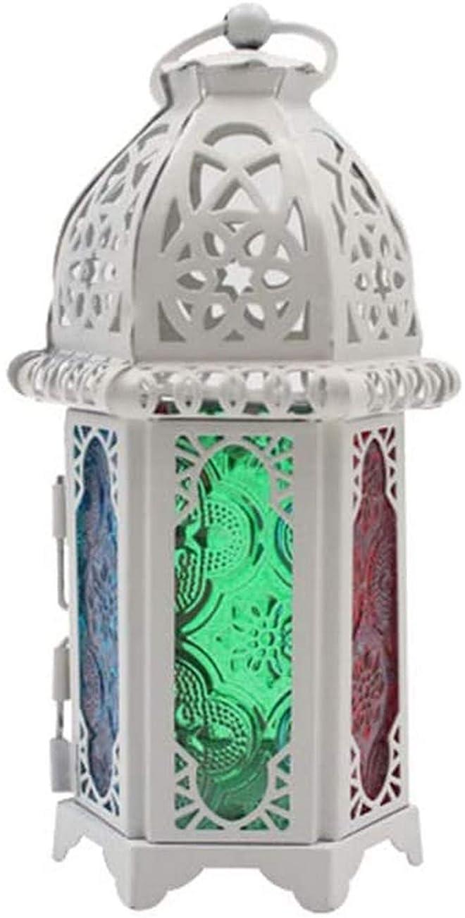 写真スコットランド人リクルート家の装飾、ヴィンテージガラスキャンドルホルダーケージランタン中空燭台結婚式の家の装飾4